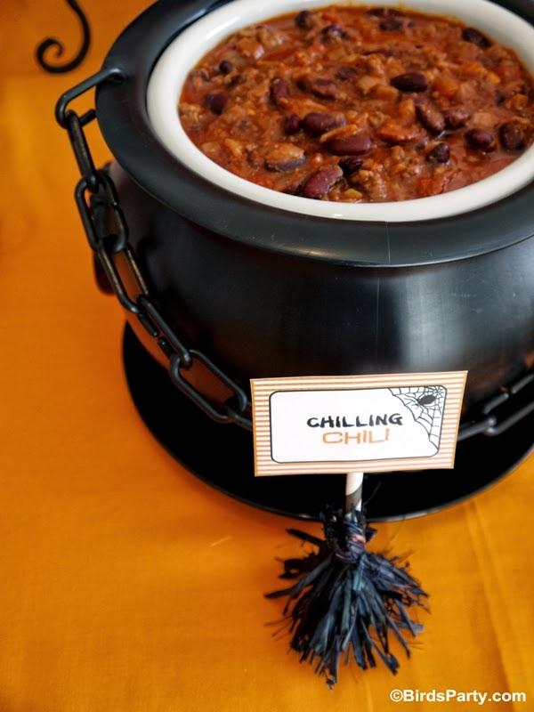 Halloween Chili Party Ideas
