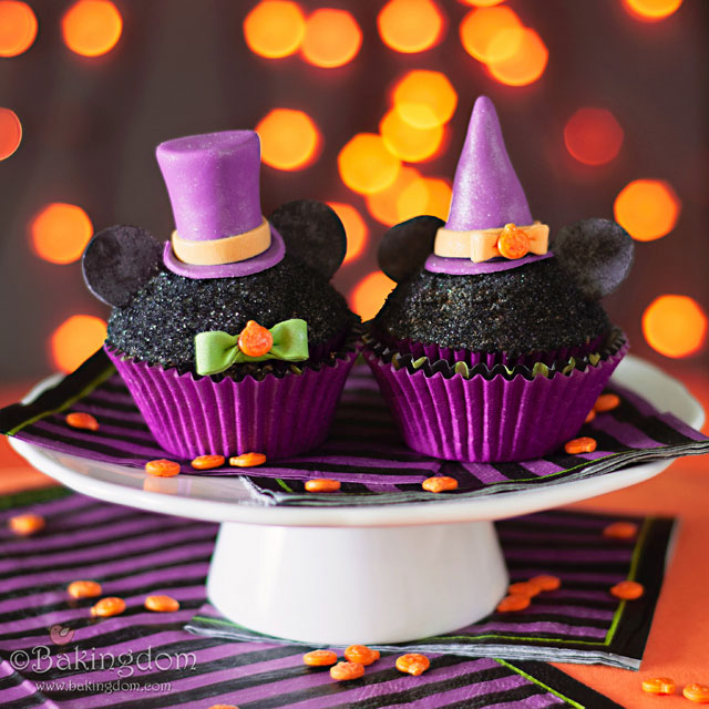 10 Photos of Mickey Halloween Cupcakes