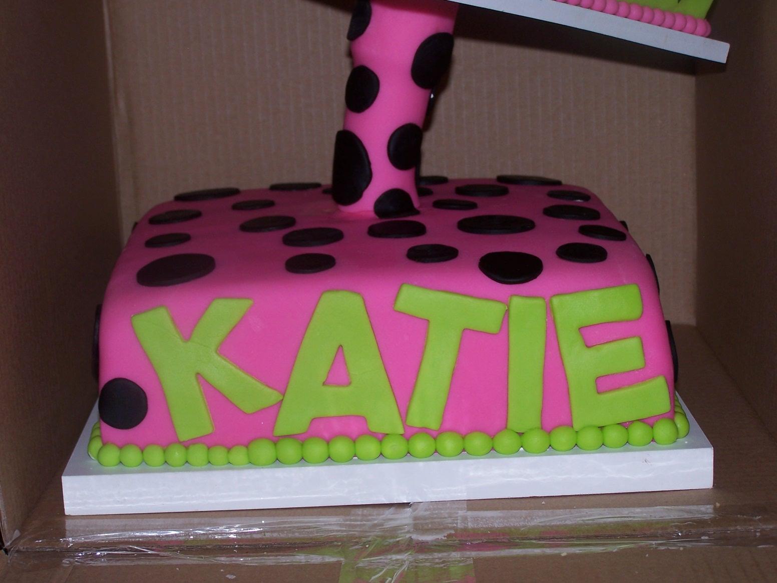 Happy Birthday Katie Cake