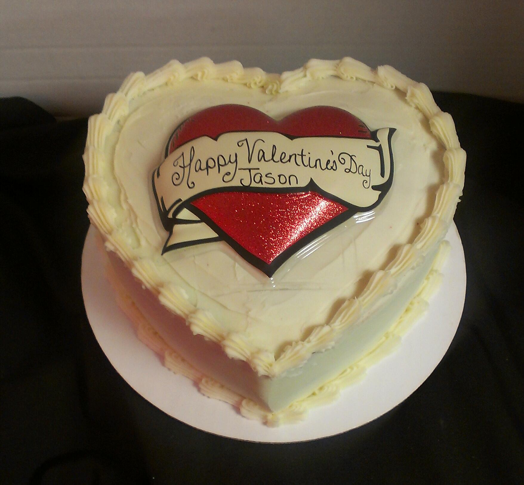 Heart Shaped Cheesecake Wedding Cake