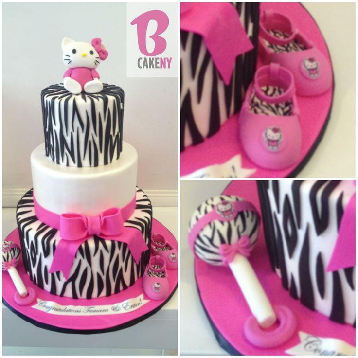 Hello Kitty Baby Shower Cake Ideas
