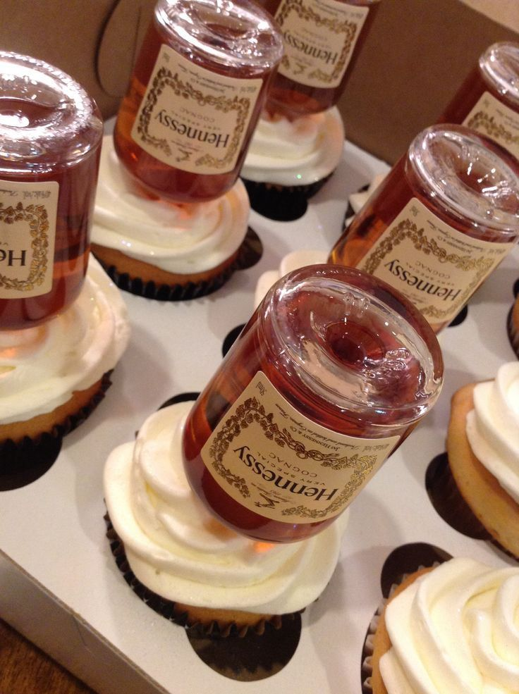 Hennessy Chocolate Cupcakes