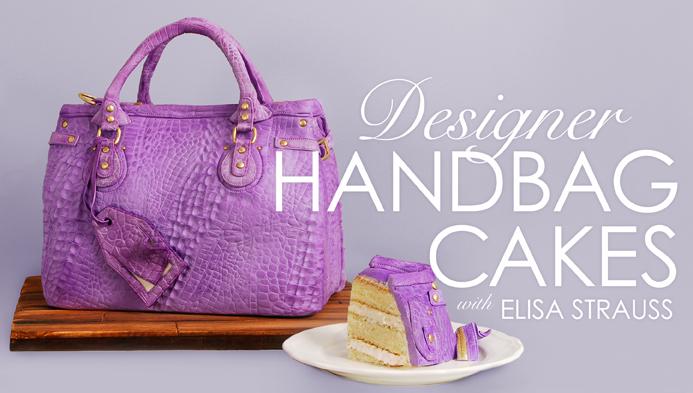 How to Make Designer Handbag Cakes