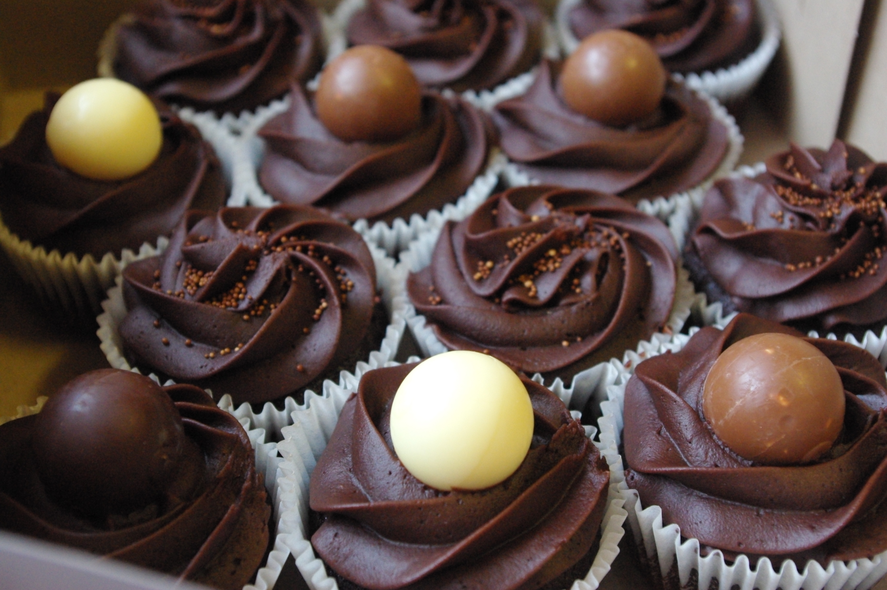 5 Photos of Lindt Lindor Truffle Cupcakes