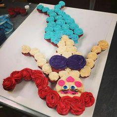 Little Mermaid Cupcake Cake -- for Marissa