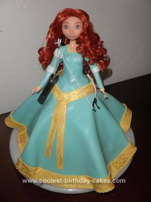 Merida From Brave Cake