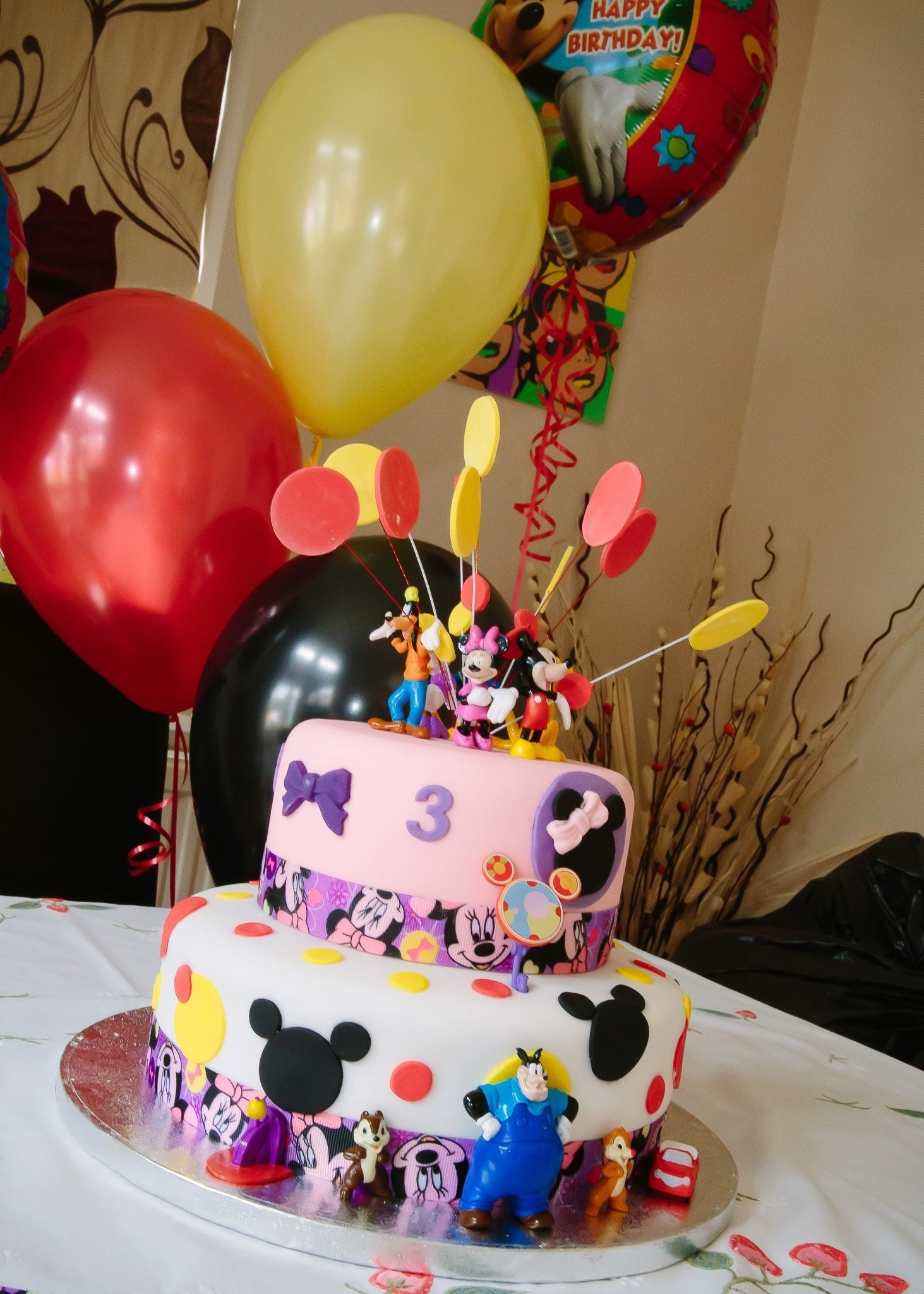 7 Photos of Mickey Mouse Clubhouse Cakes For Girls