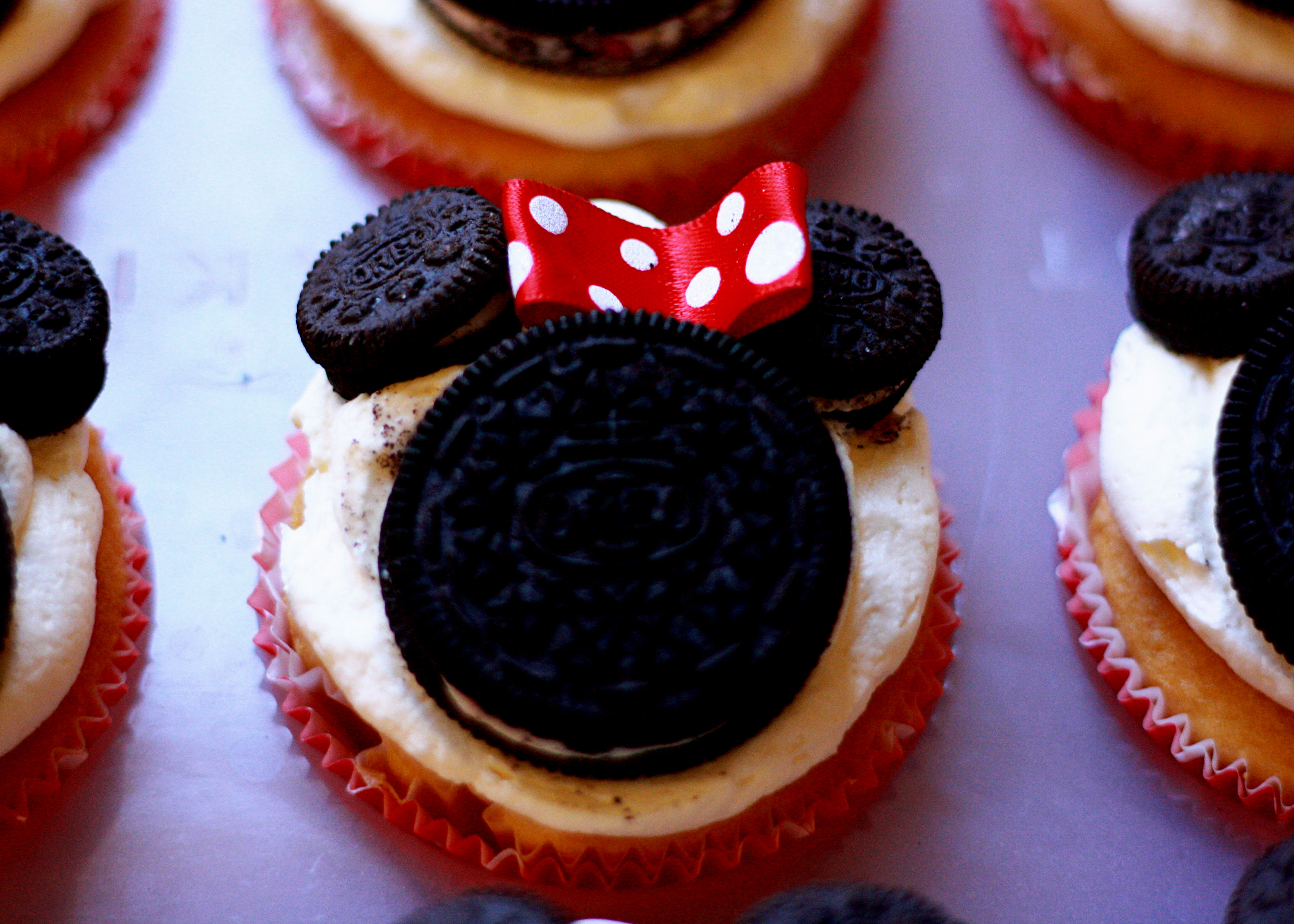 Mickey Mouse Cupcakes Pinterest