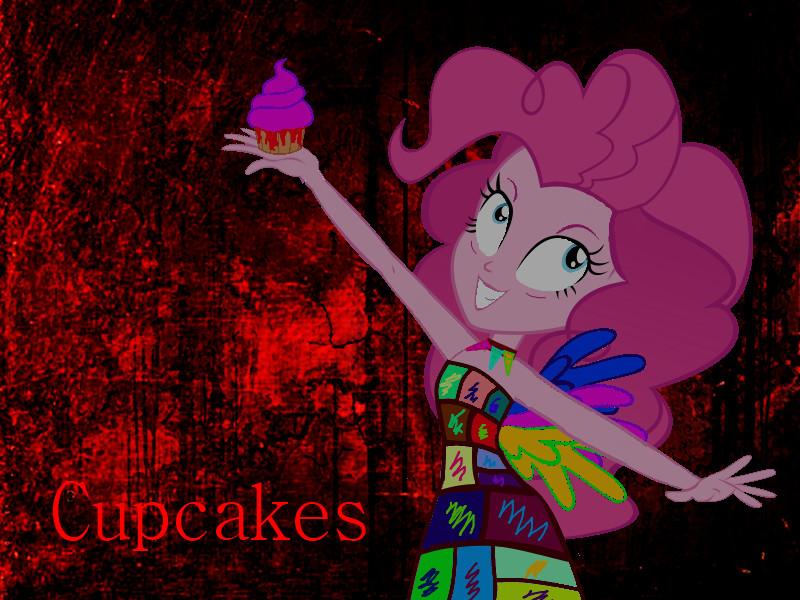 MLP Equestria Girls Rainbow Dash Creepypasta Cupcakes