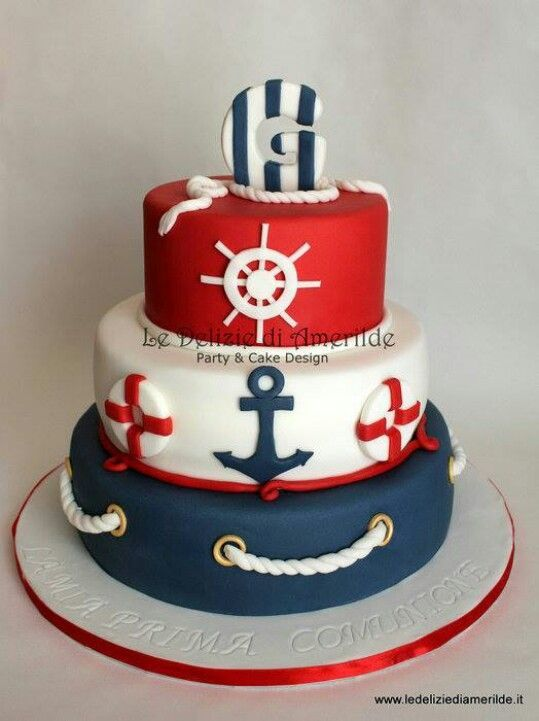 11 Photos of Naval Themed Cakes