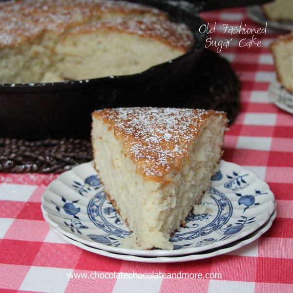 Old-Fashioned Sugar Cake