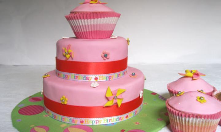Old Girl Birthday Cake