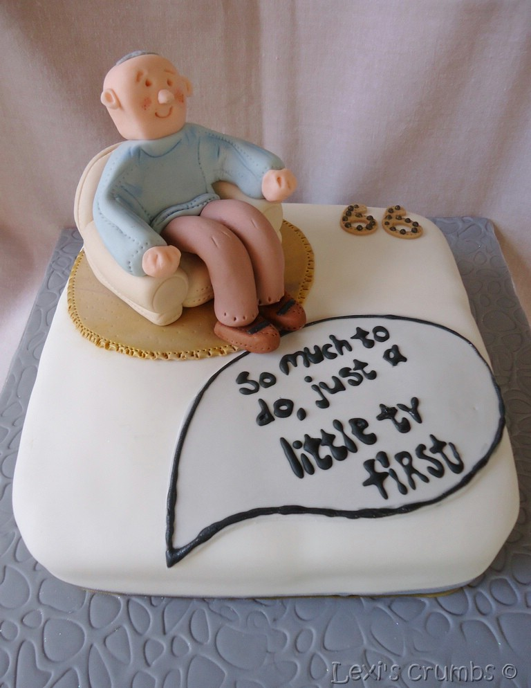 Old Man Birthday Cake Ideas