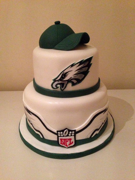 Philadelphia Eagles Happy Birthday Cake
