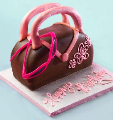 Purse Birthday Cake