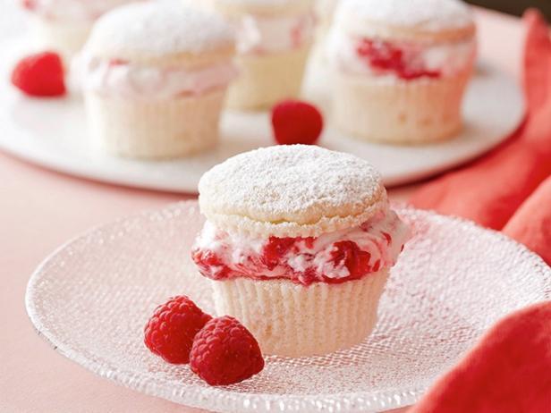 Raspberry Cream Cupcakes Recipe