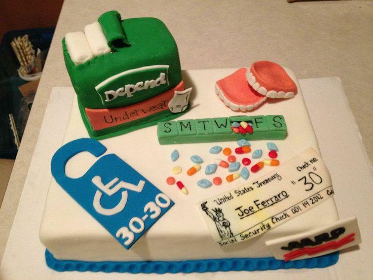 Retirement Party Cake Ideas