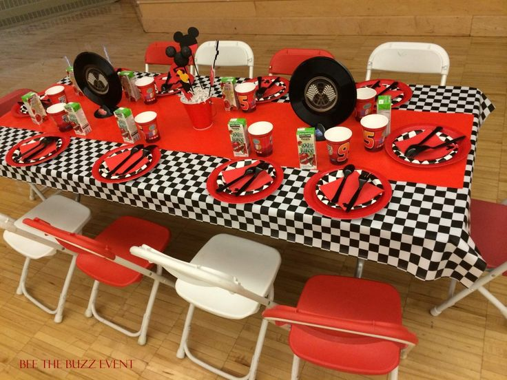 Roadster Racers Mickey Mouse Birthday Party