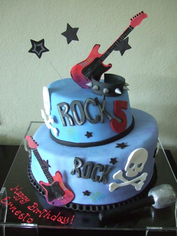 Rock Birthday Cake