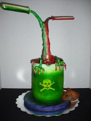 Science Experiment Cake