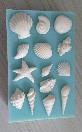 Silicone Mold Sea Shells