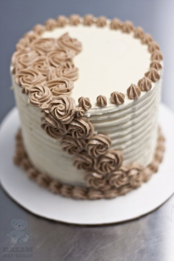 Simple Buttercream Birthday Cake Designs