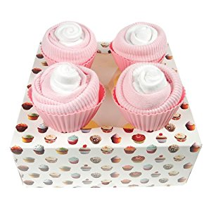 Sock Baby Shower Cupcakes Boxes