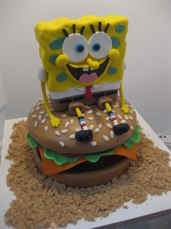 Spongebob SquarePants Birthday Cake Ideas