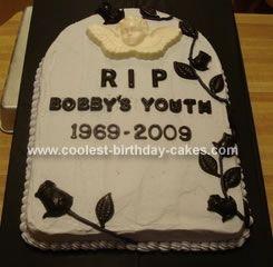 Tombstone Birthday Cake Ideas