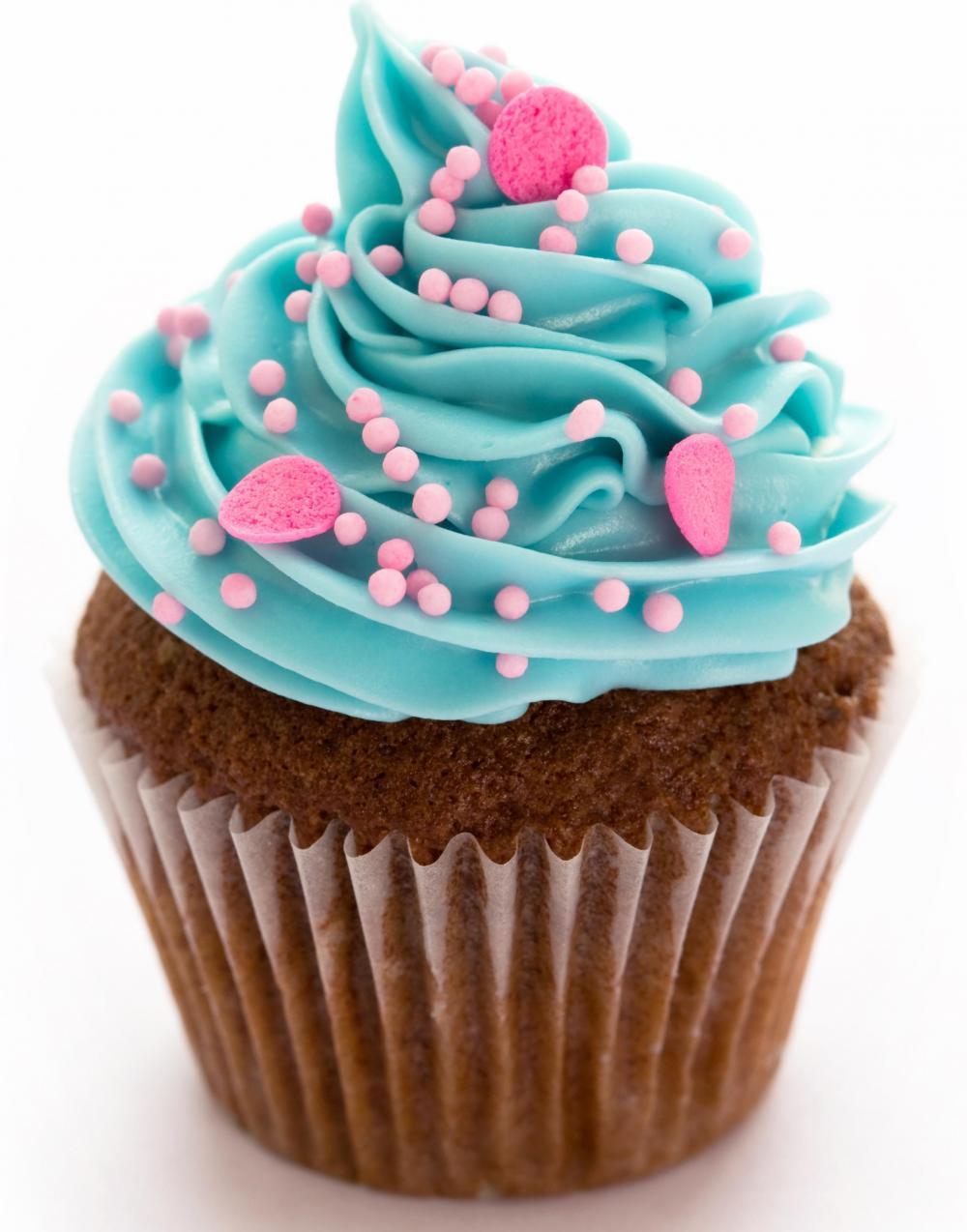 Transparent Cupcake