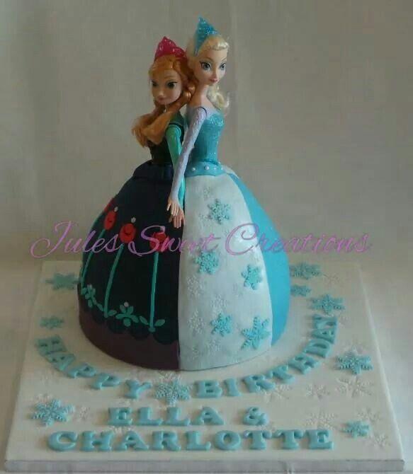 Twins 7th Birthday Cake