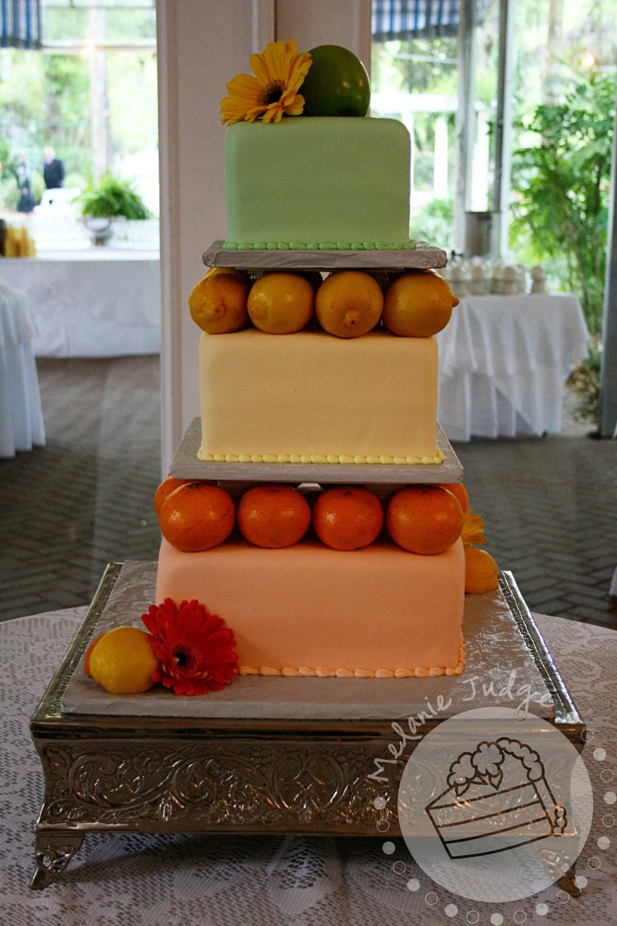 Wedding Cakes with Real Fruit