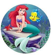 Ariel Little Mermaid Cake Topper