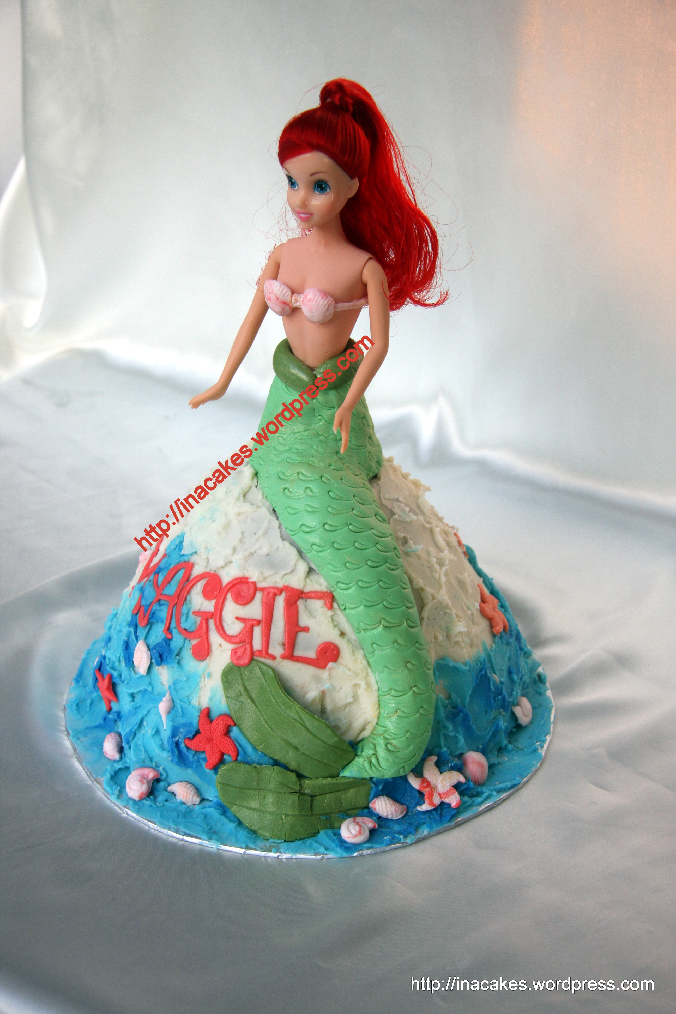 Ariel Princess Cake Ideas