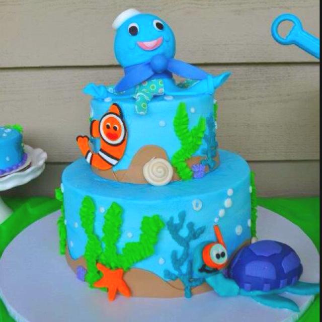 7 Photos of Neptune Birthday Cakes