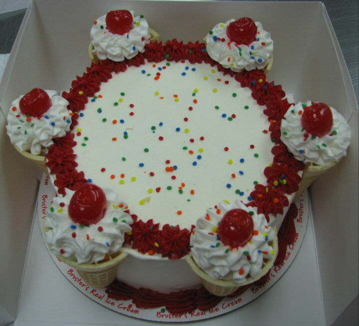 Bruster's Ice Cream Cake