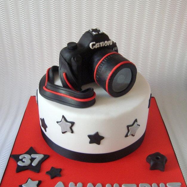 Camera Birthday Cake