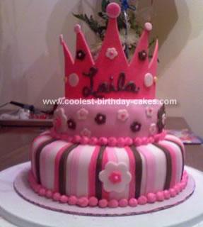 Crown Birthday Cake Ideas