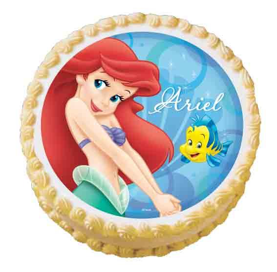 Disney Princess Edible Cake Images