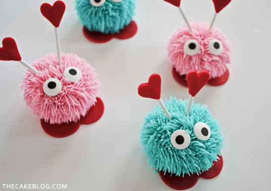 8 Photos of Love Bug Cupcakes