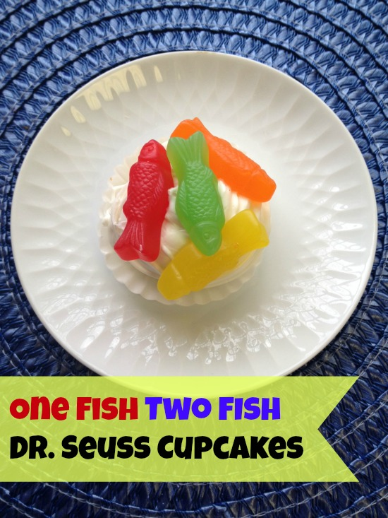 7 Photos of One Fish Two Fish Cupcakes