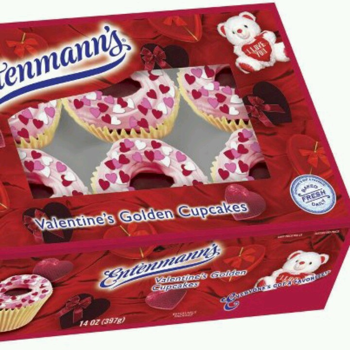 10 Photos of Entenmann's Valentine Cupcakes