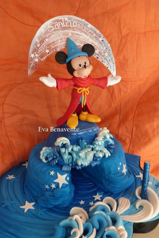 Fantasia Mickey Mouse Cake