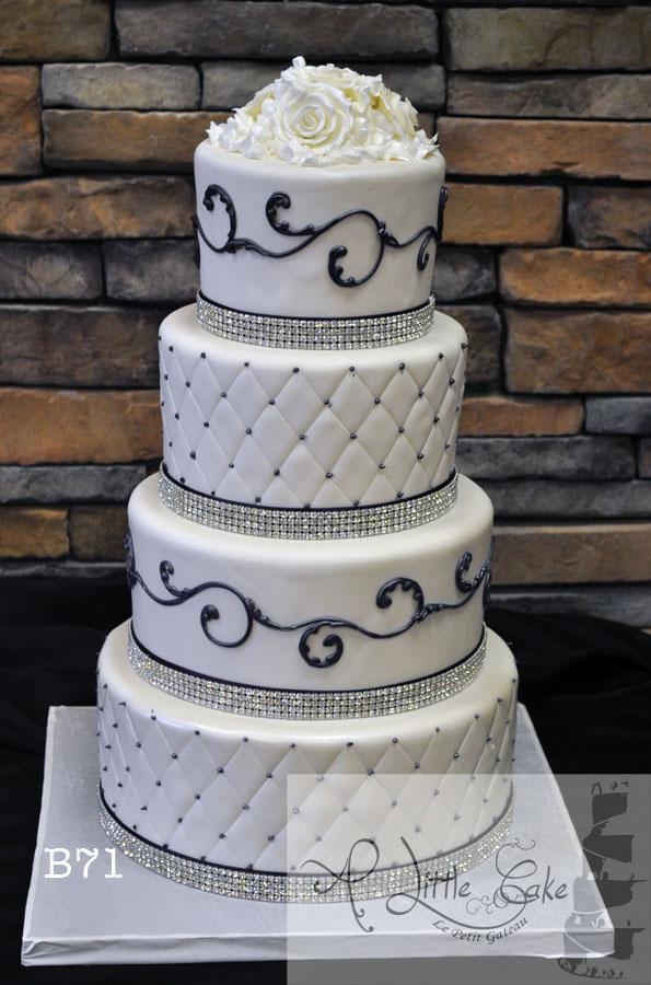 8 Photos of Purple Fondant Wedding Cakes Designs