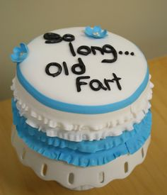 Funny Retirement Cakes