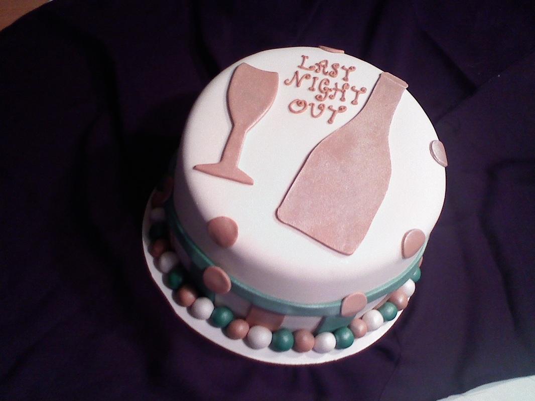 Grooms Wedding Shower Cake