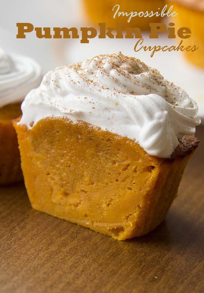 9 Photos of Pumpkin Pie Cupcakes On Pinterest