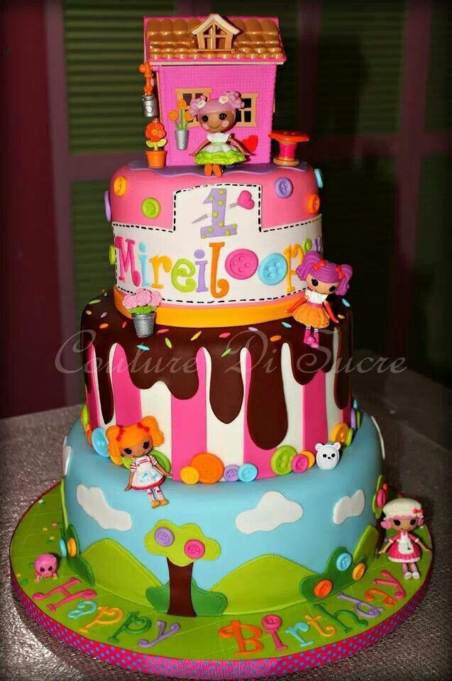 8 Photos of La La Loopsy Party Cakes