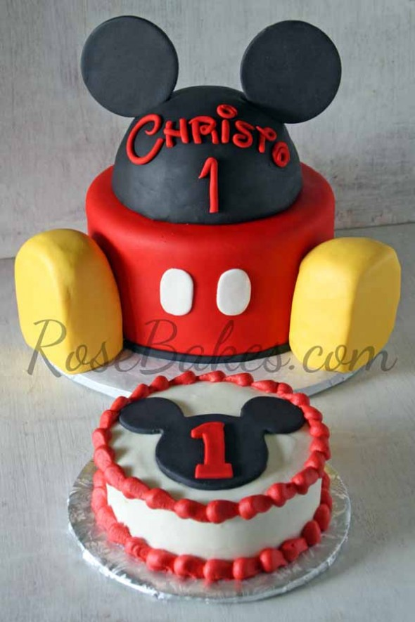 Mickey Mouse Clubhouse Smash Cake