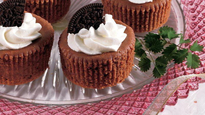Mini-Chocolate Cheesecakes Recipe